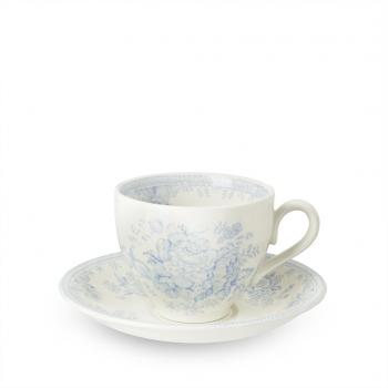 Teetasse & Untertasse - Burleigh Blue Asiatic Pheasants