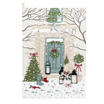 Sophie Allport Geschirrtuch, Holly & Berry Home for Christmas